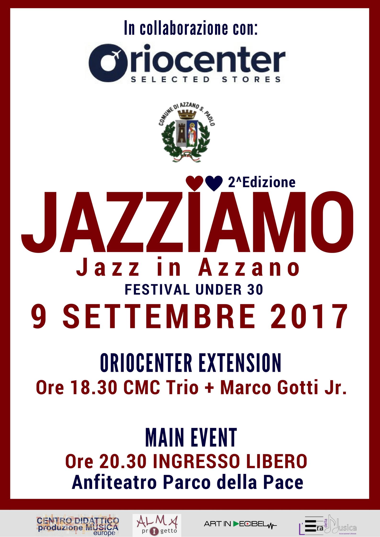 Jazziamo – Jazz in Azzano per musicisti Under 30 – 2a edizione